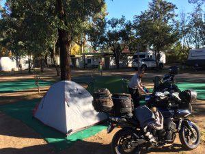 Bike trip Camping Nagambie